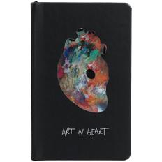 Блокнот Art In Heart А6, черный фото