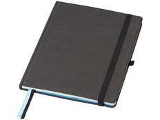 Блокнот для конференций на резинке Marksman B5, 80 листов, черный фото