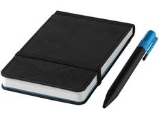 Блокнот нелинованный на резинке Marksman Echo Reporter А6, 80 листов, черный фото