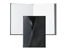 Блокнот формата А6 Lapo, чёрно-серый фото