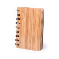Блокнот из бамбука Lemtun, крафт фото
