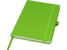 Блокнот из переработанных материалов Marksman Honua А5, зеленый фото