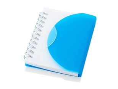 Блокнот нелинованный на пружине Post А7, 60 стр., синий фото