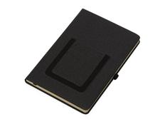 Блокнот с карманом для телефона Pocket А5, черный фото