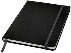 Блокнот в точку на резинке Spectrum А5, 96 листов, черный фото