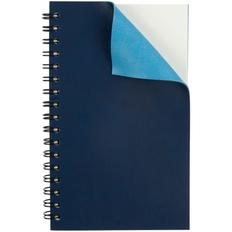 Блокнот Spring, синий фото