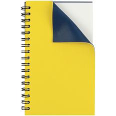 Блокнот Контекст Spring на пружине, желтый / синий фото