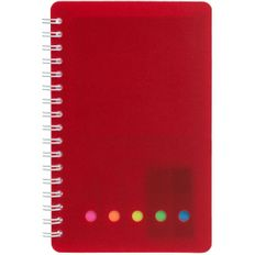 Блокнот со стикерами Адъютант Stick, красный фото