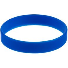 Браслет силиконовый Valley, синий фото