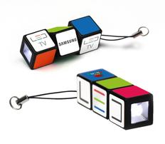 Брелки с фонариком «Кубик Рубика» фото