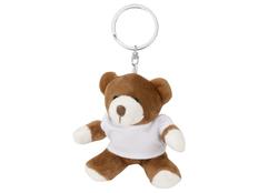 Брелок Медвежонок Ларри, коричневый фото