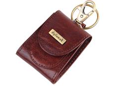 Брелок-монетница Diplomat, коричневый фото