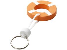 Брелок нетонущий в виде спасательного круга, оранжевый фото