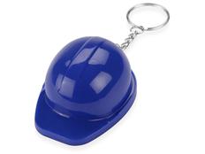 Брелок - открывашка Каска, синий фото