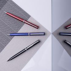 Ручка шариковая металлическая с зеркальной гравировкой B1 Bullet New, черная / металлик фото