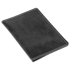 Бумажник водителя Apache, кожа, черный фото