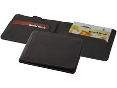 Бумажник Marksman Adventurer RFID, черный фото