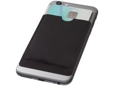 Бумажник для карт с RFID, черный фото