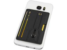 Бумажник для телефона с защитой RFID, черный фото