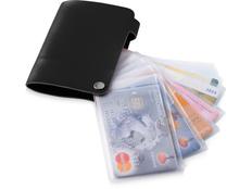 Бумажник Valencia, черный фото