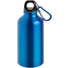 Бутылка для воды с карабином Re-Source 400мл, синяя фото