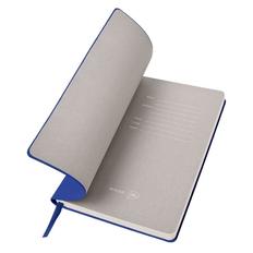 Бизнес-блокнот в клетку thINKme Biggy B5, 256 стр., синий фото