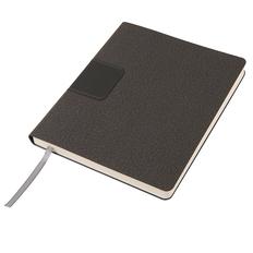 Бизнес блокнот в линейку thINKme Tweedi А5-, 256 стр., серый фото