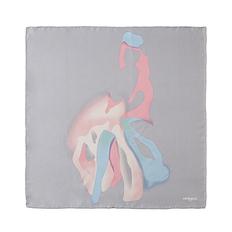 Платок шейный CACHAREL Demoiselle Gris, серый фото