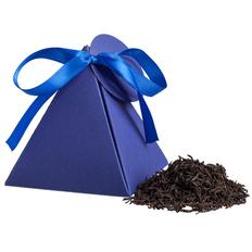 Чай Breakfast Tea в пирамидке, синий фото
