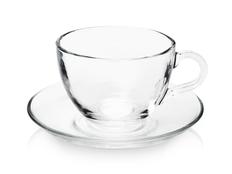 Чайная пара Britain, прозрачная фото