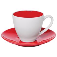 Чайная пара Galena в подарочной упаковке, красный, 200 мл фото