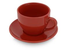 Чайная пара Гленрок, красная фото
