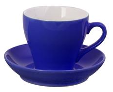 Чайная пара Tulip, синяя фото