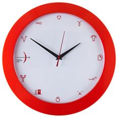 Часы настенные «Бизнес-зодиак. Стрелец», красные фото