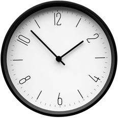 Часы настенные Lander, белые / черные фото