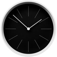 Часы настенные Neo, черные / белые фото