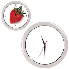 Часы настенные ПРОМО разборные, белый, белый фото