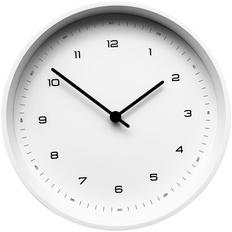 Часы настенные White, белые фото