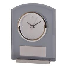 Часы настольные Award с шильдом, серый фото