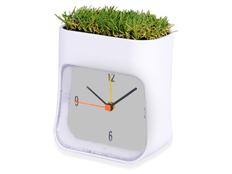 Часы настольные Grass, белый фото