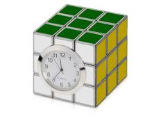 Часы настольные Кубик Рубика, разноцветный фото