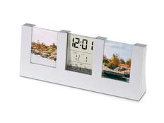 Часы «Сан-Лоренцо» с рамками для фото, серебристые фото