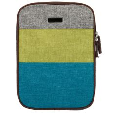 Чехол для iPad Антигуа, серый меланж/ синий фото
