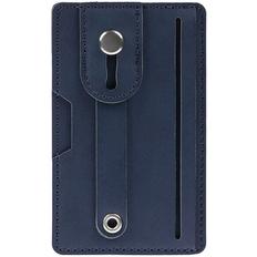 Чехол для карт на телефон Frank с RFID-защитой, синий фото
