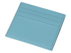 Чехол для карточек и денег Weekend, голубой фото