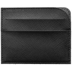 Чехол для карточек Linen, черный фото