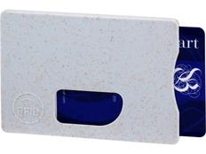 Чехол для карточек RFID Straw, серый фото
