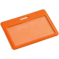 Чехол для карточки Devon, оранжевый фото