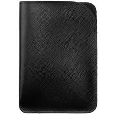 Чехол для паспорта Linen, черный фото