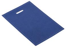 Чехол для пропуска Twill, синий фото